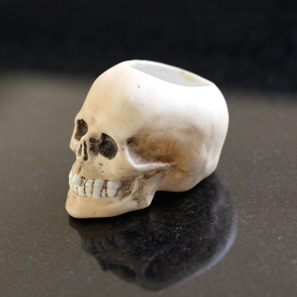 how to make ceramic skull